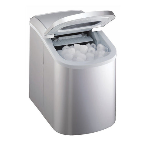 Large Capacity Countertop Ice Maker : SMAD Portable Bullet Ice Countertop Ice Maker Silver - Chickadee ...