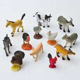 Fun Central AU192 Assorted Farm Animals 12 count - Chickadee Solutions - 1