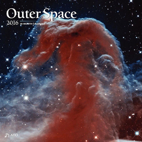 2016 Monthly Wall Calendar - Outer Space - by BrownTrout - Chickadee Solutions - 1