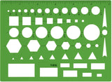 Westcott Technical Drawing Template (T-816) - Chickadee Solutions - 1