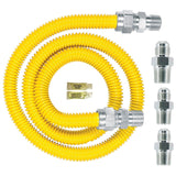 Watts Dormont 30C-3131KIT-48B Complete Gas Range Install Kit 48-Inch Length - Chickadee Solutions