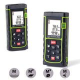 Laser Distance MeasureHandheld Range Finder MeterPortable Measuring DeviceAre... - Chickadee Solutions - 1