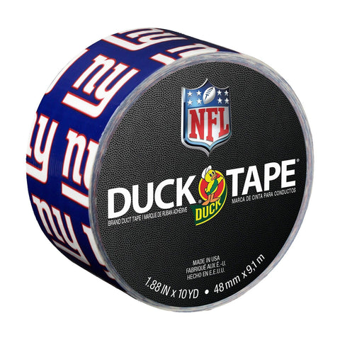 Duck Brand 281533 New York Giants NFL Team Logo Duct Tape 1.88-Inch by 10 Yar... - Chickadee Solutions - 1