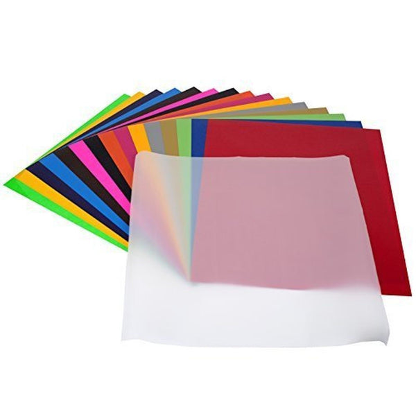Angel crafts 12 x 10 heat transfer vinyl sheets 16 pack for Angel craft transfer tape