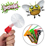 4pk Buginator Fly Swatter Guns Insect Bug Pest Killer Spring Loaded Shot Shoo... - Chickadee Solutions - 1