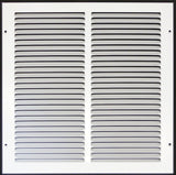 "14"" x 14"" RETURN GRILLE - Easy Air FLow - Flat Stamped Face - Chickadee Solutions - 1"