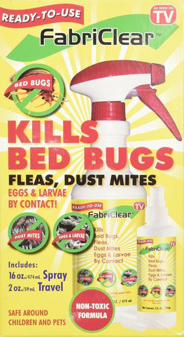 Fabriclear Bed Bug Spray - Chickadee Solutions - 1