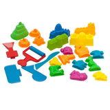 Sand Molds Kit (23 pcs) - Compatible with Kinetic Sand Sands Alive Brookstone... - Chickadee Solutions - 1