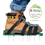 Lawn Aerator Sandals Set - [Upgraded] 4 Straps Kitclan(TM) Lawn Aerator Spike... - Chickadee Solutions - 1