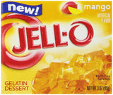 Jell-O Gelatin Snacks Mango 3-Ounce (Pack of 6) 3 Ounce (Pack of 6) - Chickadee Solutions - 1