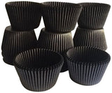 Golda's Kitchen 100 Count Baking Cups Standard Sized Black 1 - Chickadee Solutions