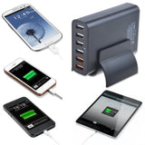 Quick Charge 2.0 ABLEGRID 60W Multi-port USB Charger 6 Ports Intelligent Desk... - Chickadee Solutions - 1