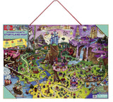 T.S. Shure Storyland Wooden Magnetic Map & Puzzle - Chickadee Solutions - 1
