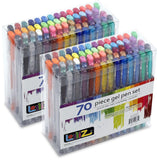 LolliZ Gel Pens 70 Pen Tray Set - Set of 2 - Chickadee Solutions - 1
