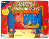 Magnetic Learning Board with 51 Letters and Numbers Chalk and Eraser - Chickadee Solutions - 1
