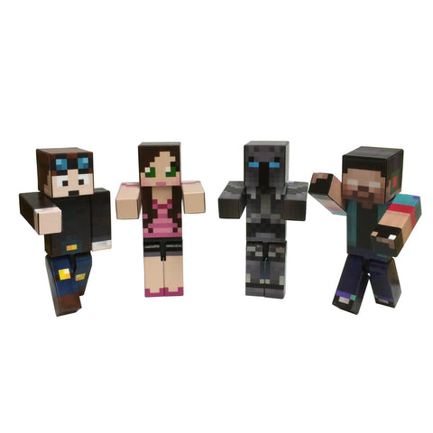 4 Toy Bundle (Herobrine Bundle) by EnderToys - A Plastic Toy - Chickadee Solutions
