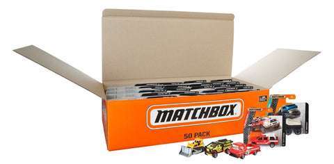 Matchbox Diecast 50 Car Pack (1:64 Scale) - Chickadee Solutions - 1
