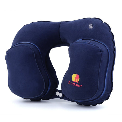 Andake Inflatable Pillow Suitable as Travel Pillow Neck pillow Best Pillow fo... - Chickadee Solutions - 1
