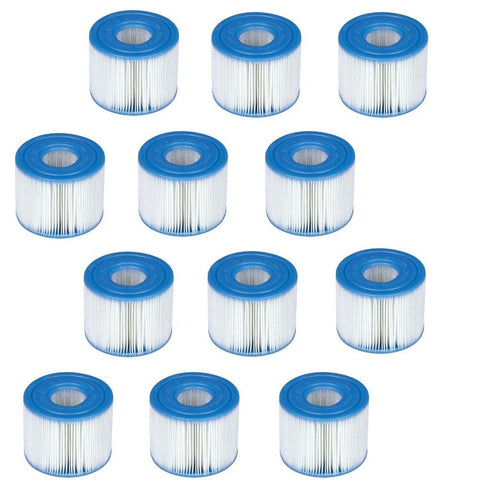 Replacement Intex 29007e Swimming Pool Filter Cartridge H 12 Pack Chickadee Solutions