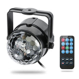 3W Led Stage Projector Lights RGB Sound Actived Crystal Magic Mini Rotating L... - Chickadee Solutions - 1
