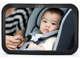 [2016 Model] Back Seat Mirror - Rear View Baby Car Seat Mirror by Baby & Mom ... - Chickadee Solutions - 1