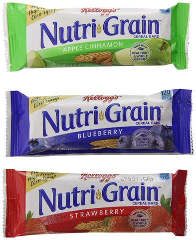 Nutri-Grain Kellogg's Cereal Bars Variety Pack 48 Count - Chickadee Solutions - 1
