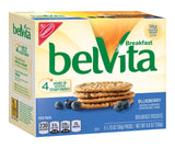 belVita Breakfast Biscuits Blueberry 8.8 Ounce (6 Pack) - Chickadee Solutions - 1