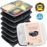 HomeNative Meal Prep Containers Set Pack of 7 - Chickadee Solutions - 1