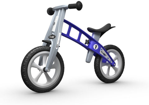 FirstBIKE Basic Bike without Brake Blue - Chickadee Solutions - 1