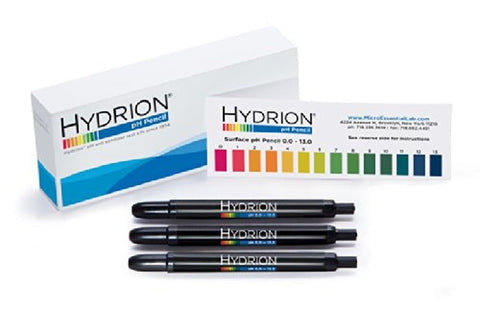 3 Pack Hydrion P-12m Insta- Chek 0-13 Range Mechanical Ph Pencils - Pens for ... - Chickadee Solutions