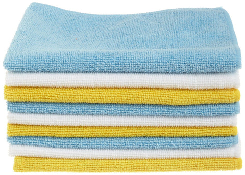 AmazonBasics Microfiber Cleaning Cloth - 24 Pack 24-Pack - Chickadee Solutions - 1