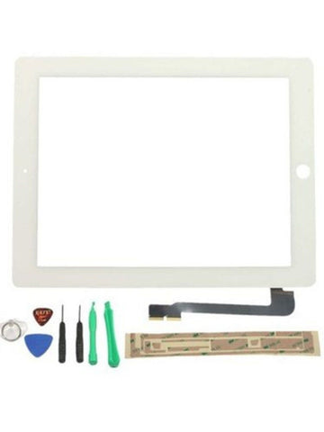 WHITE OEM REPLACEMENT APPLE iPAD 3 3RD GEN LCD GLASS TOUCH SCREEN DIGITIZER - Chickadee Solutions