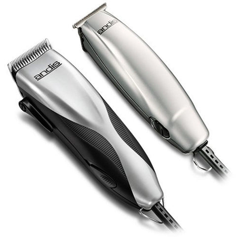 Andis Promotor and Clipper and Trimmer Combo Kit Silver (29115) - Chickadee Solutions - 1