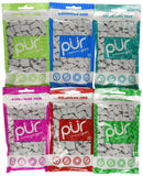 PUR Gum 6 Flavor Assortment Spearmint Peppermint Pomegranate Mint Wintergreen... - Chickadee Solutions - 1
