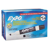 Expo Low Odor Chisel Tip Dry Erase Markers Black (80001) (4 Dozen) - Chickadee Solutions