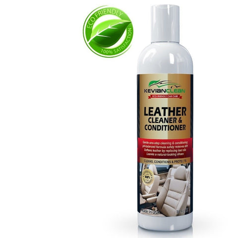 Kevian Clean Leather Cleaner Conditioner Best For Automotive Upholstery I Chickadee