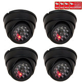 VideoSecu 4 Pack Dome Dummy Fake Infrared IR CCTV Surveillance Security Camer... - Chickadee Solutions - 1