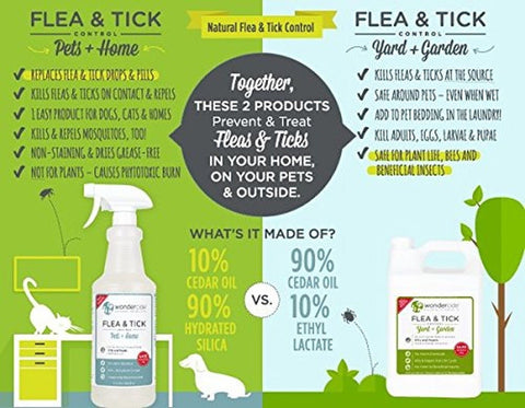 Natural Flea And Tick Yard Spray Kill Control Amp Prevent