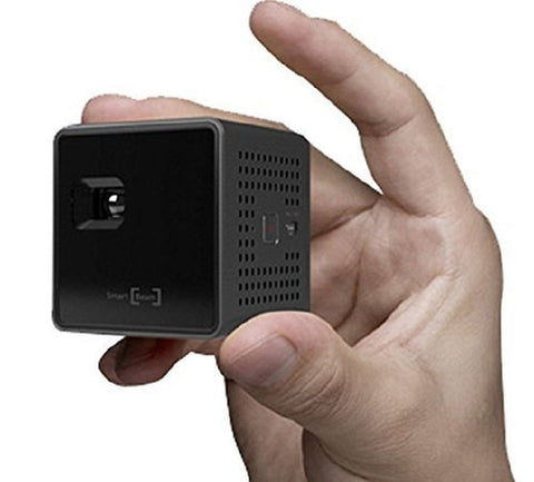 SK UO Smart Beam Portable Mini Projector (1.77-inch Black) 1.77 - Chickadee Solutions - 1