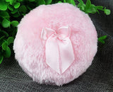 Topwon 3.5'' Soft Plush Baby Powder Puff Pink - Large Size - Chickadee Solutions - 1