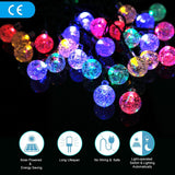 Solar String Lights Diateklity 19.7ft 30 LED Waterproof Outdoor String Lights... - Chickadee Solutions - 1