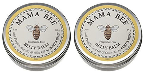 (2 Pack) - Burts Bees - Mama Bee Belly Butter | 6.6 ounce | 2 PACK BUNDLE - Chickadee Solutions - 1