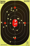 "12"" X 18"" Bulleye Splatter Spots Targets 10 25 50 100 Packs See Your Hits Ins... - Chickadee Solutions - 1"