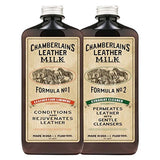 Leather Milk No. 1 - 2 Conditioner + Cleaner Set: Liniment No. 1 | Cleaner No... - Chickadee Solutions - 1