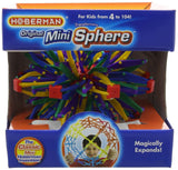 Hoberman Expanding Mini Sphere Toy Rainbow Colors - Chickadee Solutions - 1