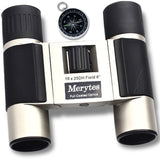 Binoculars with 10x25 Portable High Definition and Compass by Merytes - Chickadee Solutions - 1