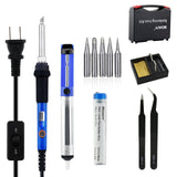 [Upgrade] 7-In-1 with ON/OFF Switch SOAIY Soldering Iron Kit and Cleaning Spo... - Chickadee Solutions - 1