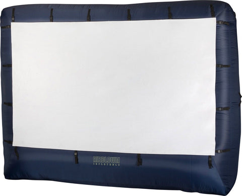 Airblown 39121-32 123 x 77-Inch Inflatable Movie Screen with Storage Bag - Chickadee Solutions