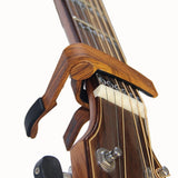 6-String Acoustic & Electric Guitar Capo- Single Handed Quick Change Capo (MA... - Chickadee Solutions - 1