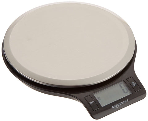 AmazonBasics Digital Kitchen Scale with LCD Display Digital Scale - Chickadee Solutions - 1